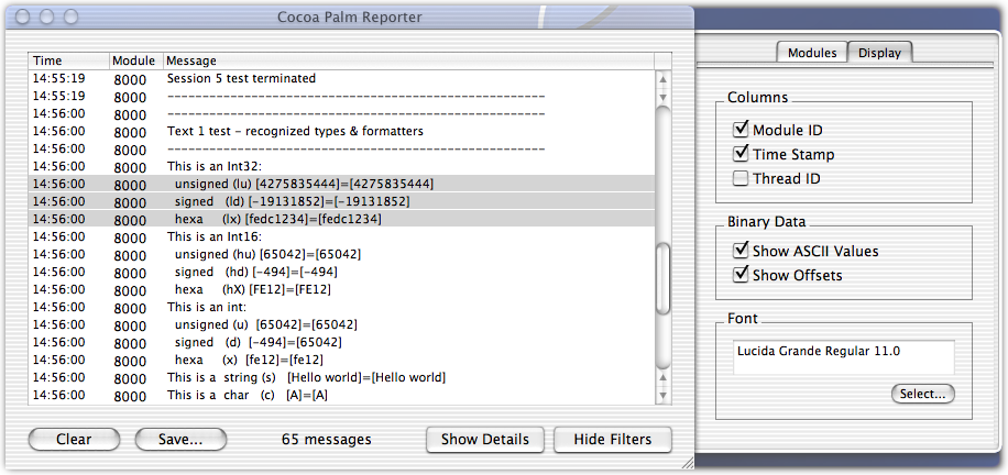 Cocoa Palm Reporter screenshot